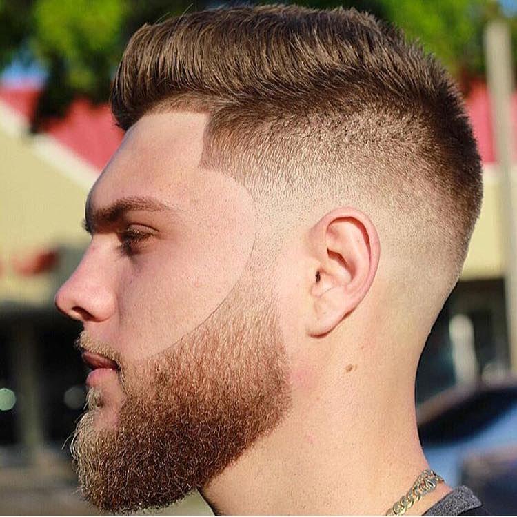 45++ Fade haircut and beard trends
