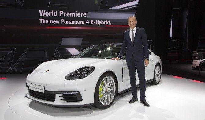 ポルシェの最新モデル世界初披露Porsche