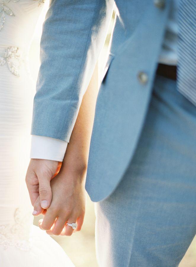 Sweet Sonoma Valley bride & groom: http://www.stylemepretty.com/2016/02/25/colorful-spring-garden-wedding-in-sonoma-valley/ | Photography: Brett Heidebrecht - http://brettheidebrecht.com/