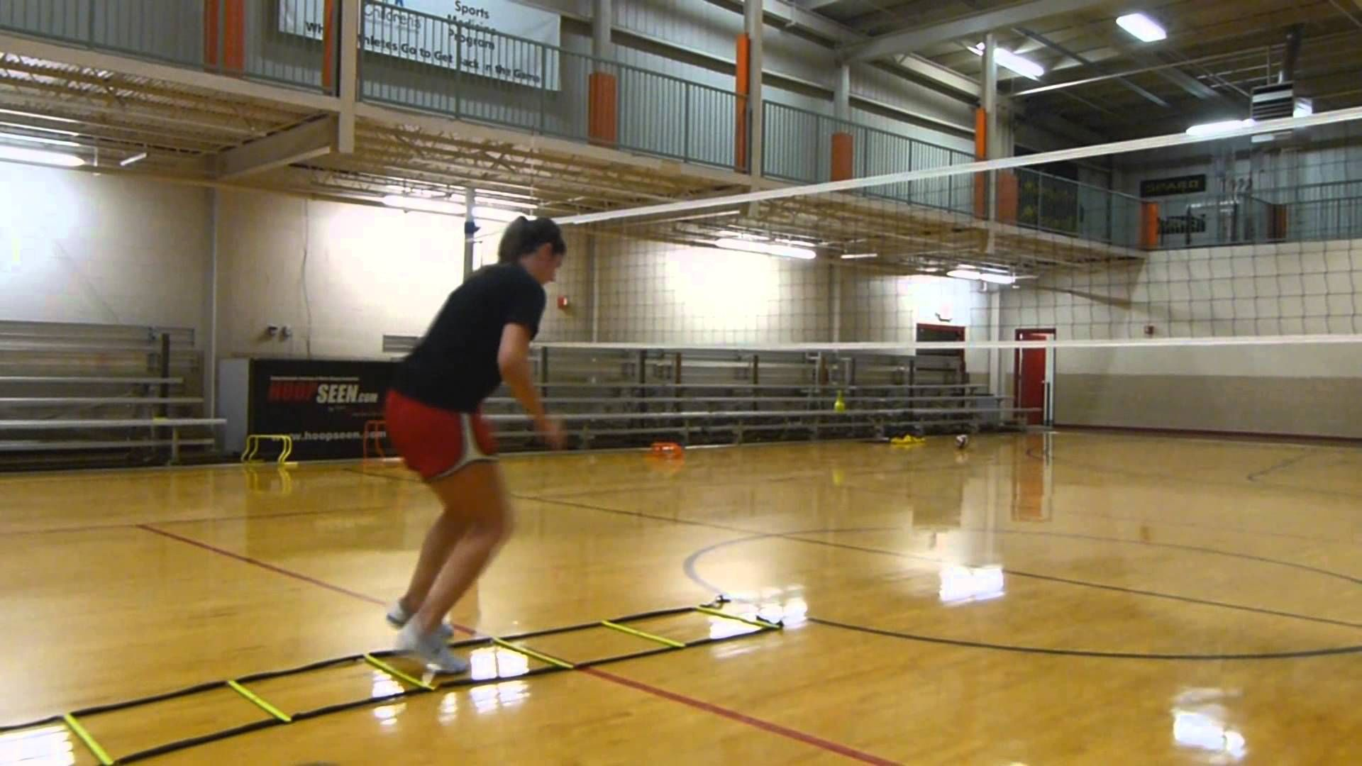 Speed, Agility, and Vertical Leap Training for Volleyball