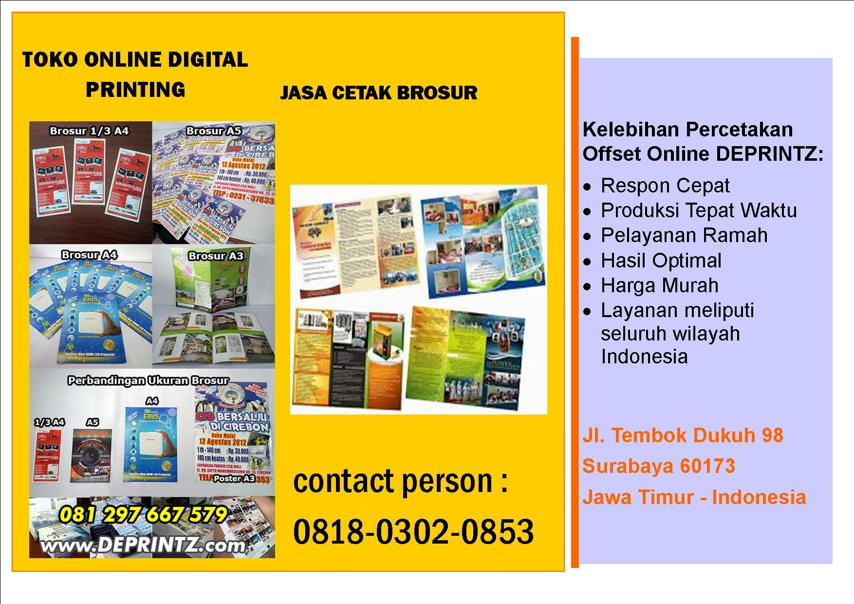 Call Wa 0818 0302 0853 Distributor Cetak Brosur Di Jember