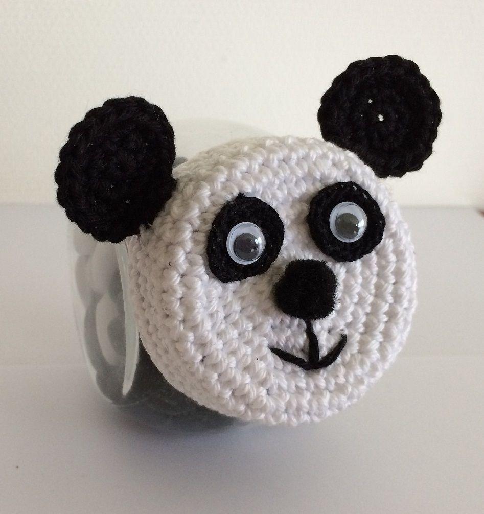 snoeppotje panda made by marygold crocheting pattern pinterest basteln mit papier. Black Bedroom Furniture Sets. Home Design Ideas