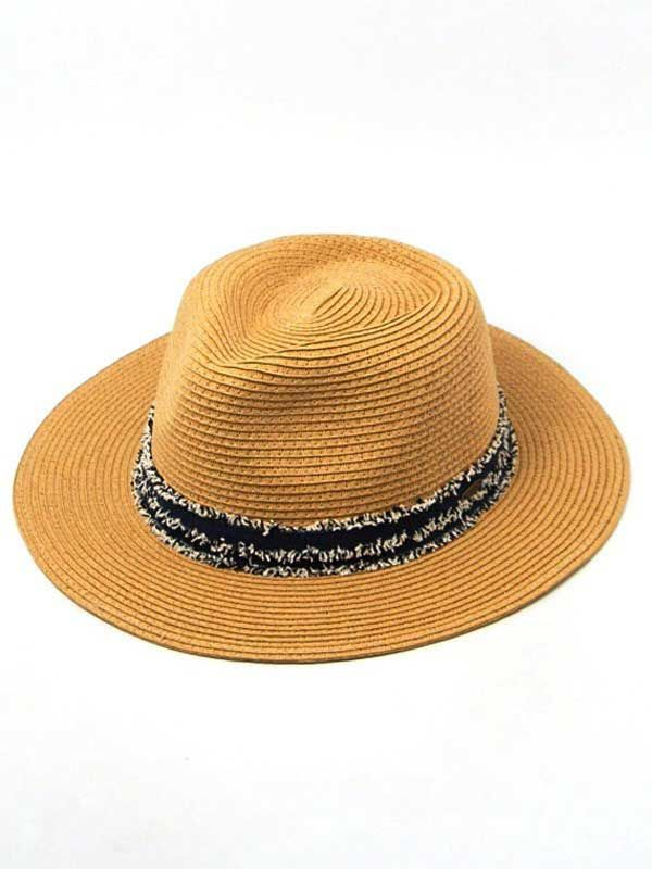 CC Exclusives Straw Panama Hat for Women in Navy ST-351-NATURAL ... f5785848fa7e