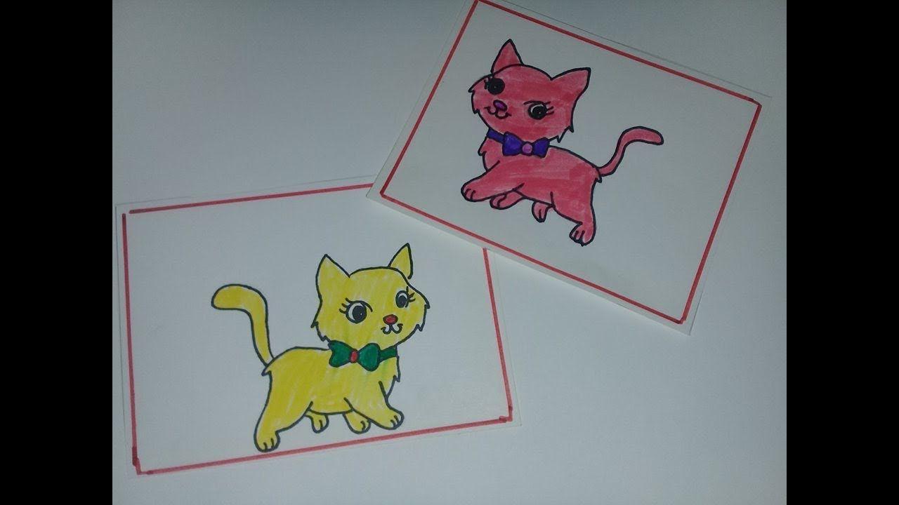 كيف نرسم قطة كتير كيوت Cat Drawing Disney Characters Character Winnie The Pooh