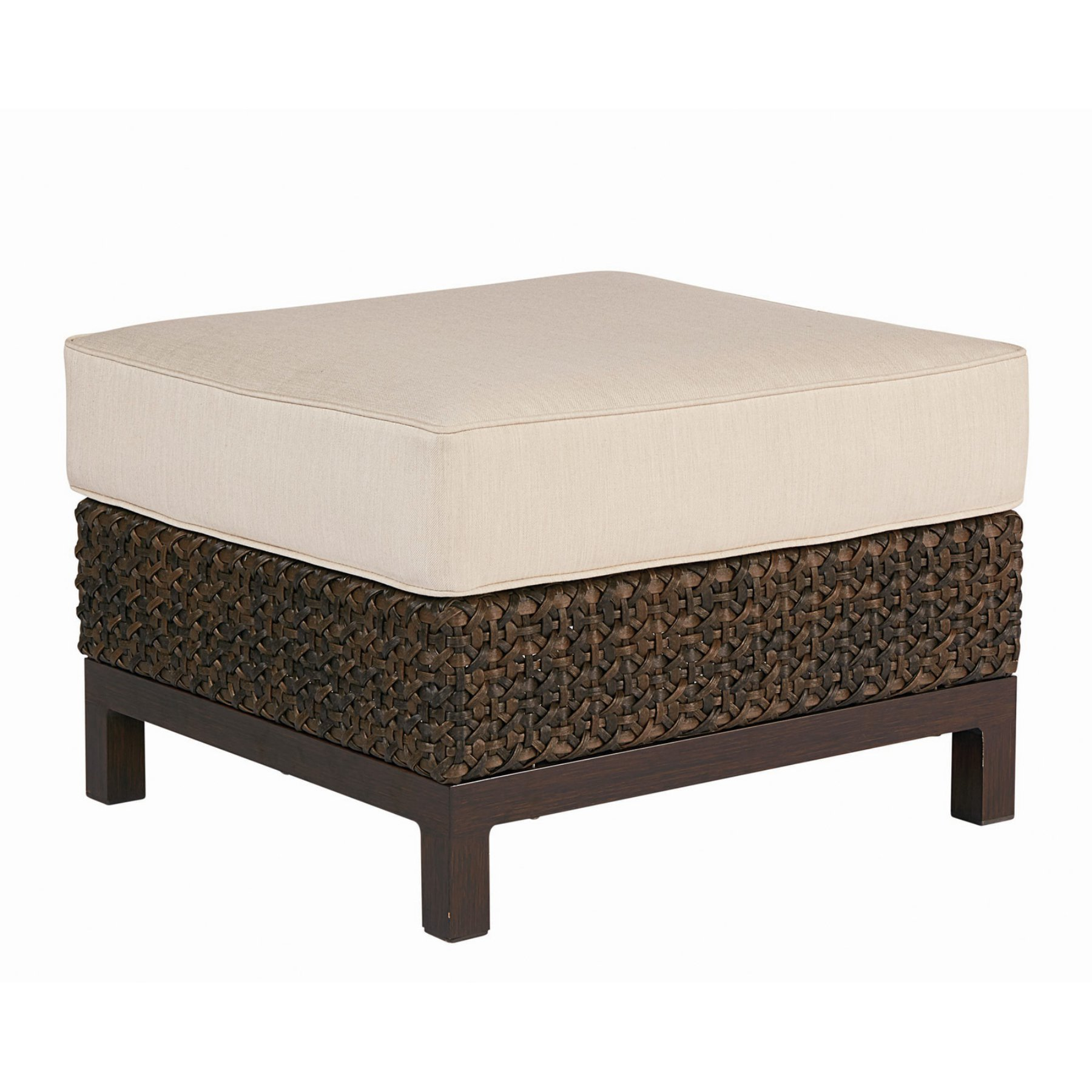 Art Furniture Epicenters Outdoor Brentwood Wicker Ottoman  923504 4114