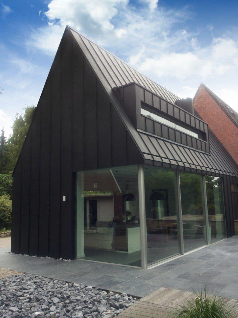 couverture de toit en zinc tanche nedzink noir nedzink sostines parkas namukai. Black Bedroom Furniture Sets. Home Design Ideas