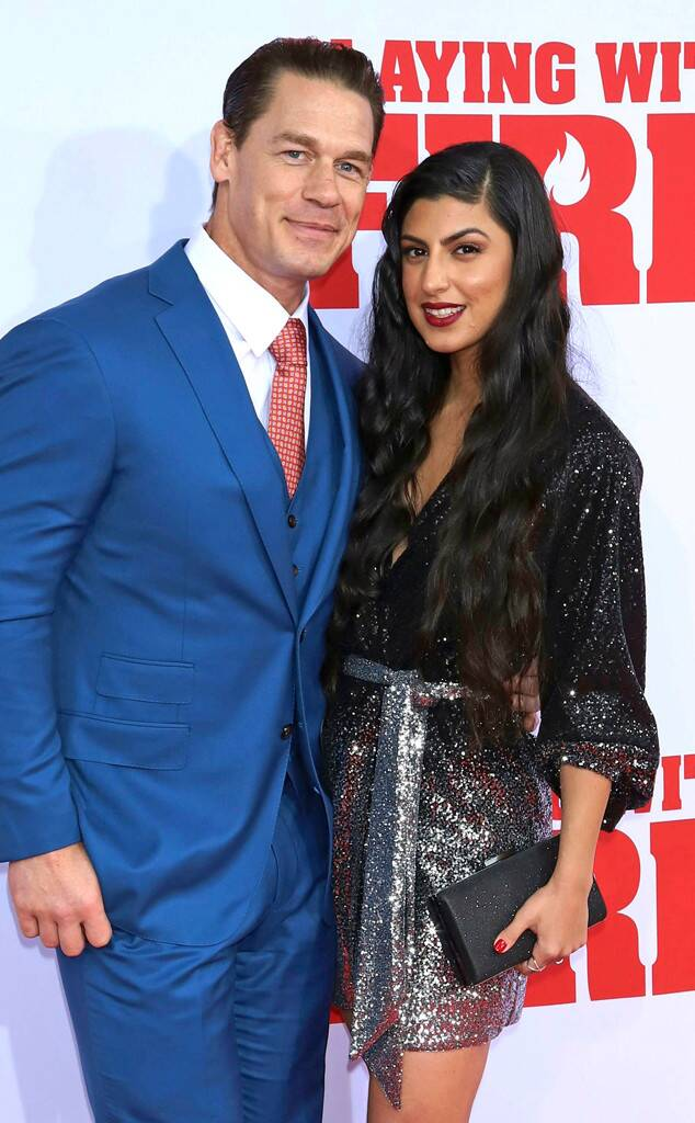 John Cena And Girlfriend Shay Shariatzadeh Make Their Red Carpet Debut John Cena Trending Celebrity News Hot Fashion