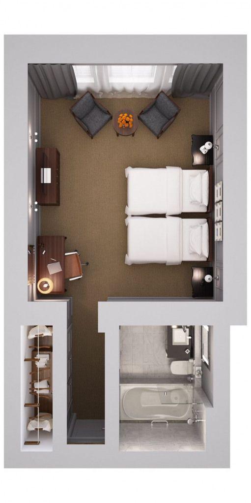 Twin Bed Hotel Room: Waldorf Astoria Edinburgh The Caledonian Premium Twin Room