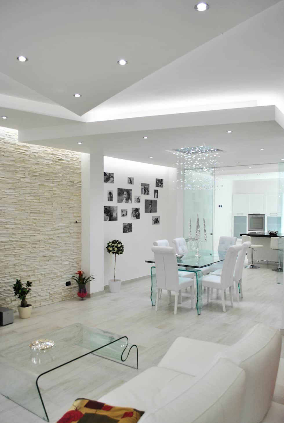 Sala da pranzo moderna di homify moderno nel 2019 for Sala design moderno