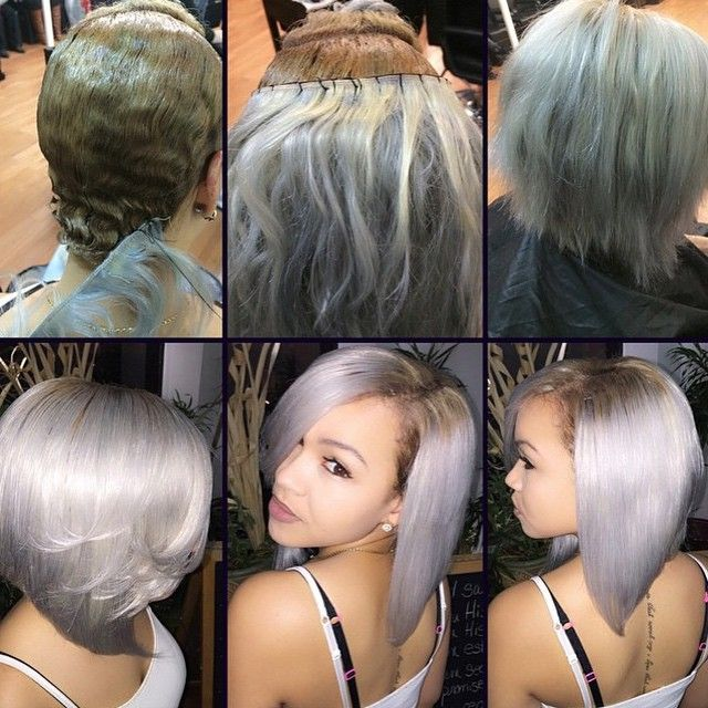 Stylist Feature Love This Braidless Install And Custom Color