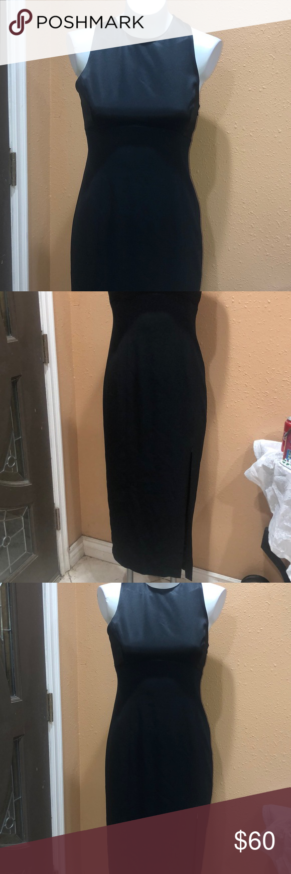 Tahari Long Black Dress Long Black Dress Black Dress Dresses [ 1740 x 580 Pixel ]