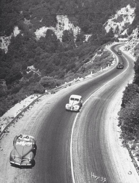 Azusa Canyon Road 1948 Vintage Road Trip Azusa Canyon
