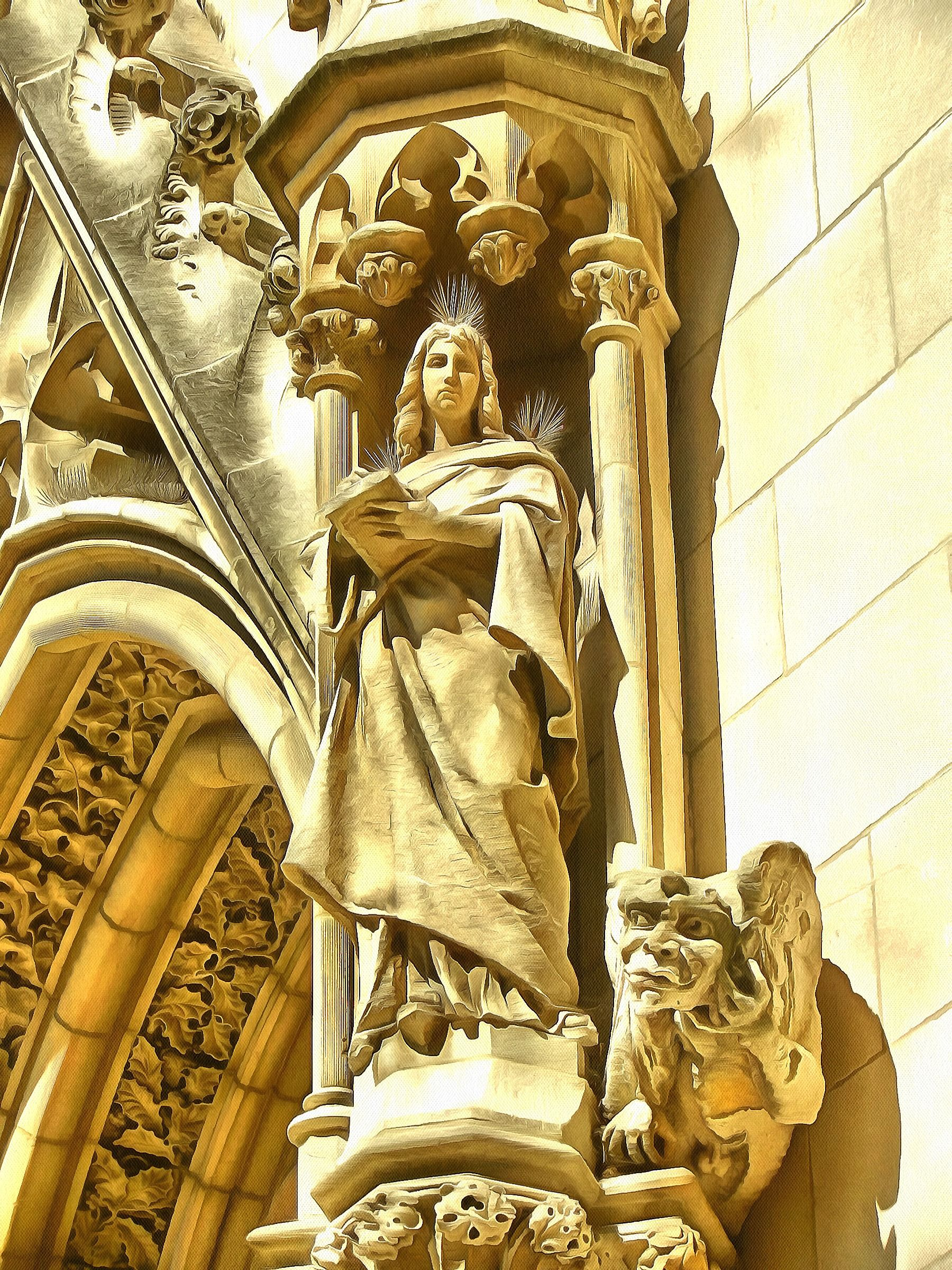 Our Lady of Lincoln Sculpture - Orthodox Arts Journal