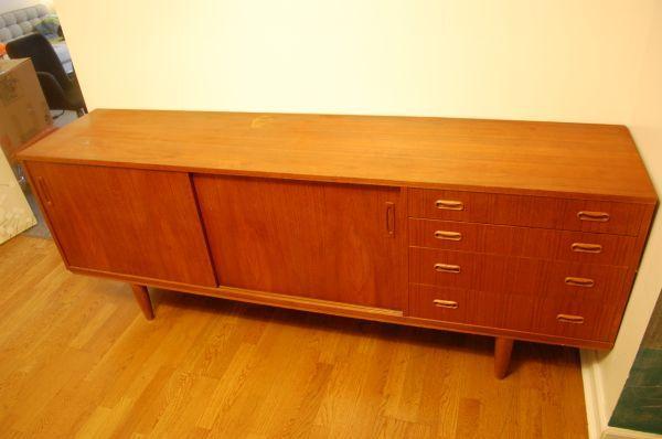 teak sideboard $580