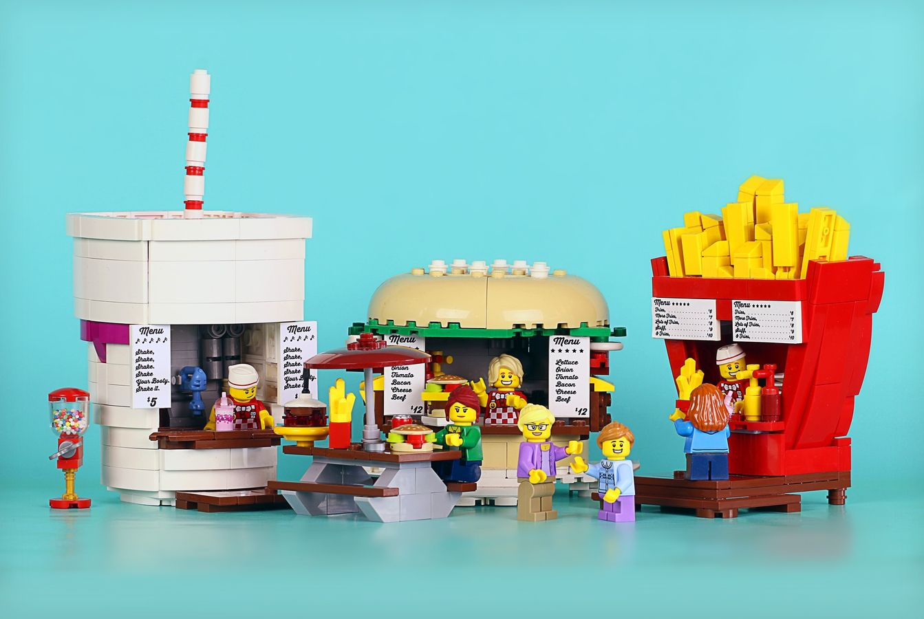 Mayonnaise /& Ketchup Lego ® Lot Accessoires Minifig Nourriture Foods Hot Dog