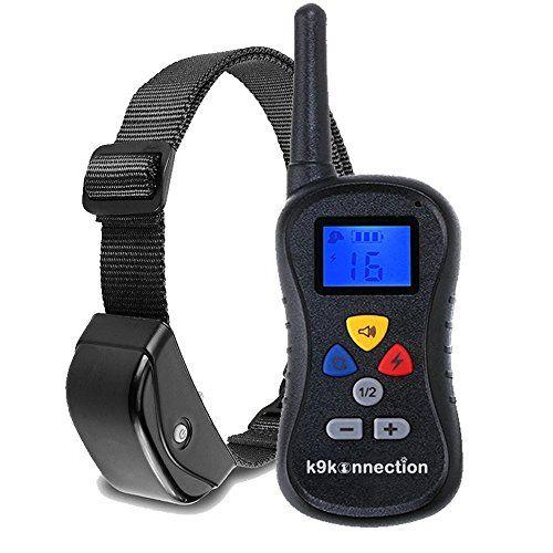 K9konnection Remote Dog Training Collar 330 Yards 16 Levels Of