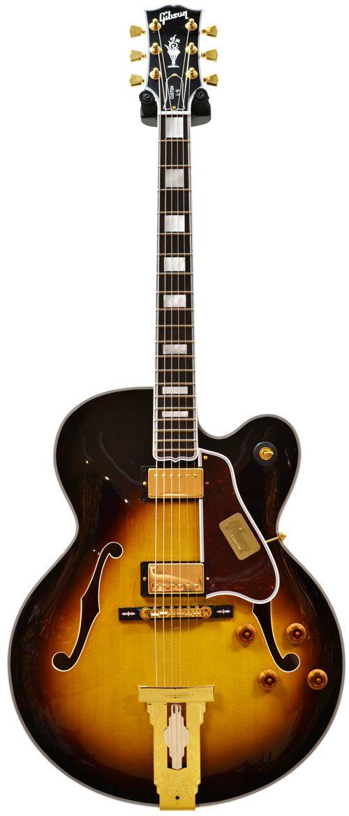 Gibson L5 Ces Vintage Sunburst Com Imagens Instrumentos