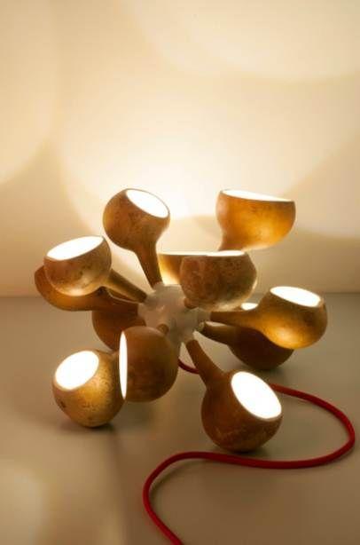 cabaça luminaria - Pesquisa Google