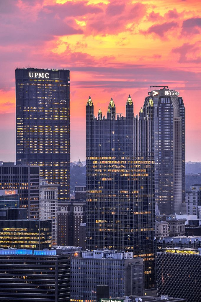 A Year In Pittsburgh SkyscraperPage Forum Pittsburgh