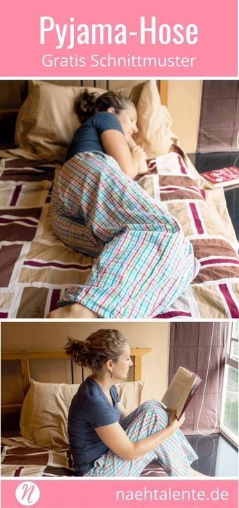 Pyjama-Hose - Lounge-Pant | Gratis Schnitt Gr. XXS - XXL | Nähtalente