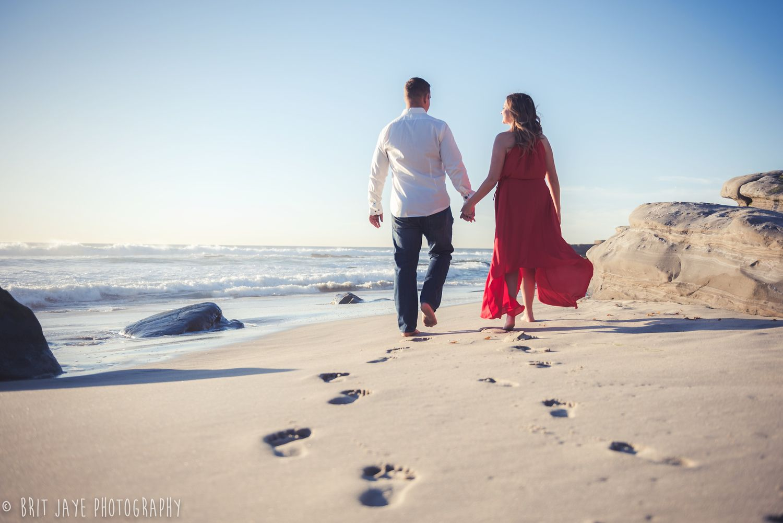 Windansea Beach Engagement Photo Shoot San Go Wedding Photography