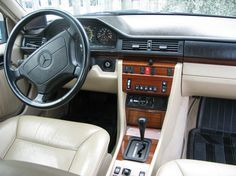 1984 1995 Mercedes W124 E Class Interior Mercedes W124