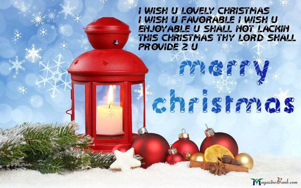 Wishes For Merry Christmas SMS Message For Cards Images