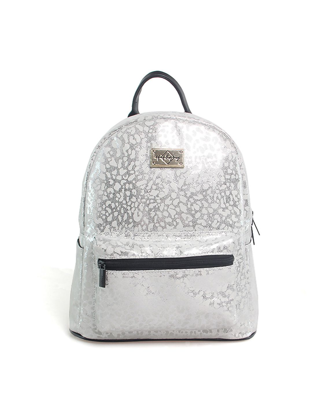 #AdoreWe #VIPme Designer Backpacks - Designer EPIPHQNY Fashion Glossy White Leopard Mini Backpack - AdoreWe.com