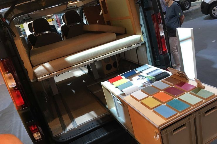 kompanja bringt alltags und campingbus neuer campervan. Black Bedroom Furniture Sets. Home Design Ideas