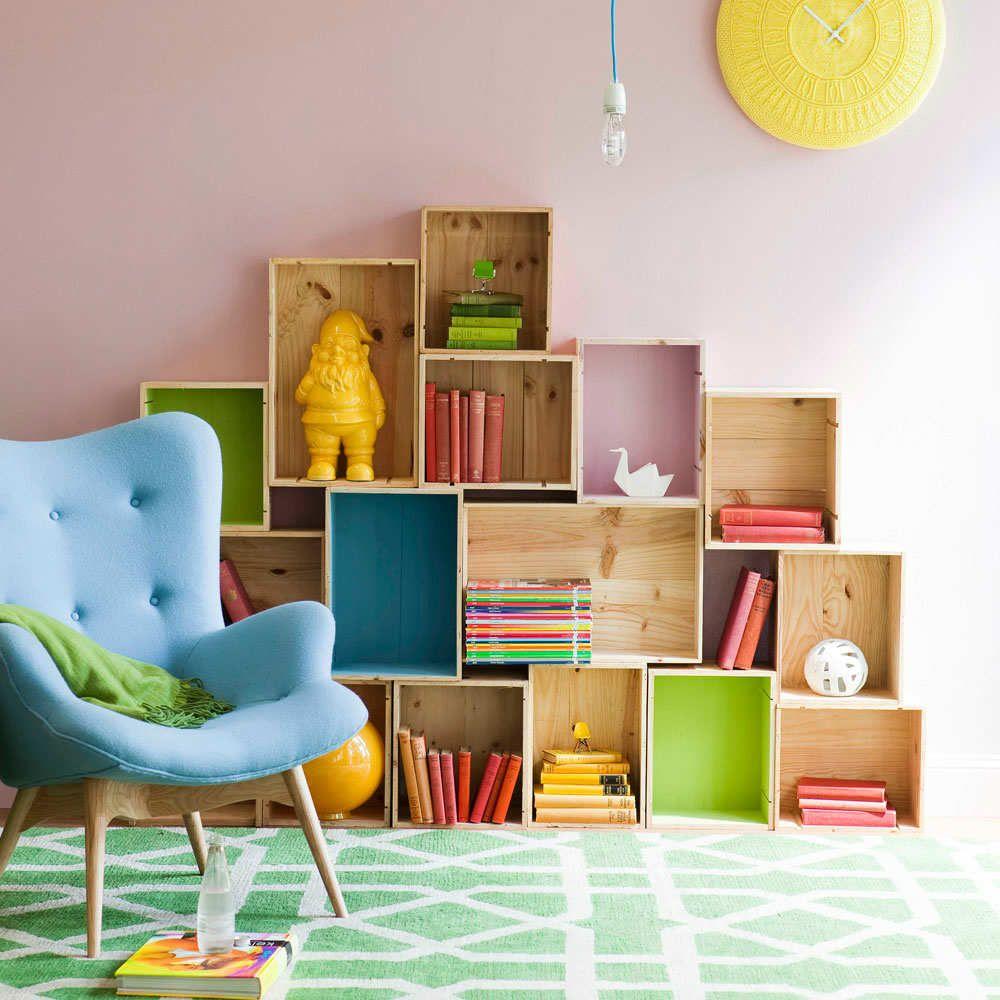 10 Super Stylish Storage Ideas for Kids Rooms | Regale bauen ...