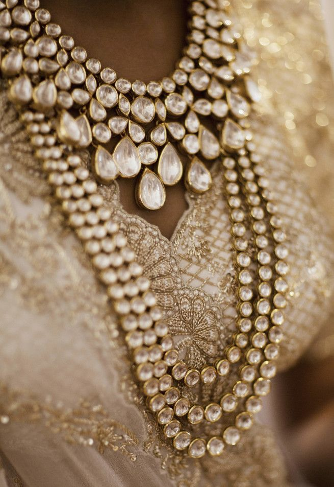 The Bridal Jewellery Beautiful bride jewellery Weddingplz