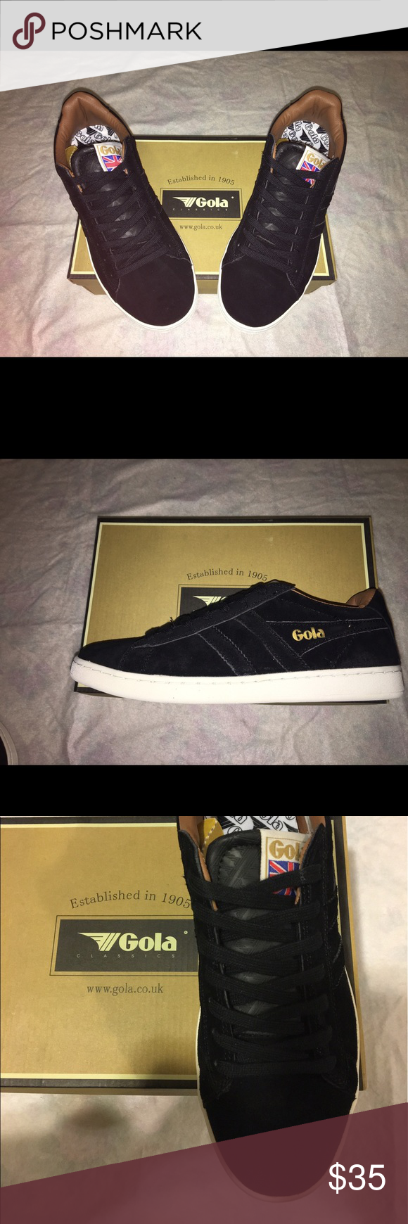 be8fd029b33 Brand New With box Gola equipe suede sneaker