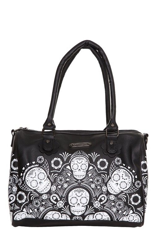 259a40e11064 I  3 Day of the Dead Skulls...I would totally rock this bag!