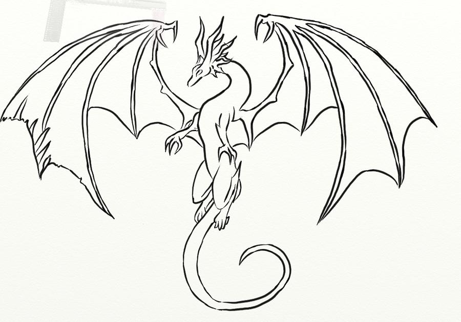 Любимому, картинки драконов красивые для срисовки