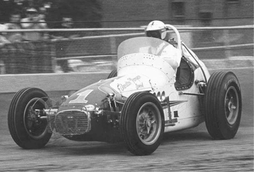 AJ Foyt 1964 Hoosier Hundred Sprint car racing