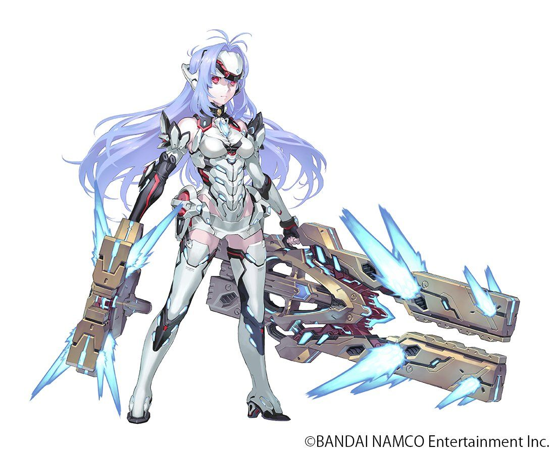 Xenoblade Chronicles 2 adds KOS-MOS Re: from Xenosaga as Rare Blade -  Gematsu