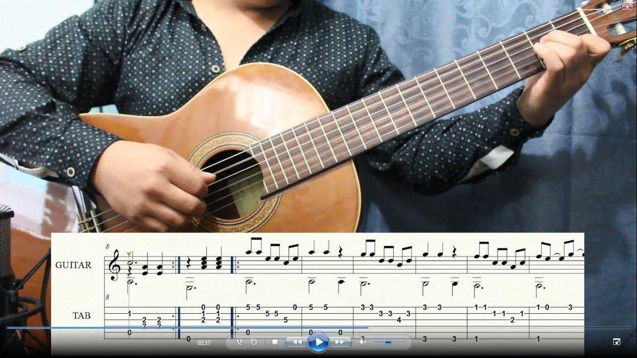 Alma Corazón Y Vida Solo Guitar Tutorial Aprender A Tocar Guitarra Corazones Clases De Guitarra