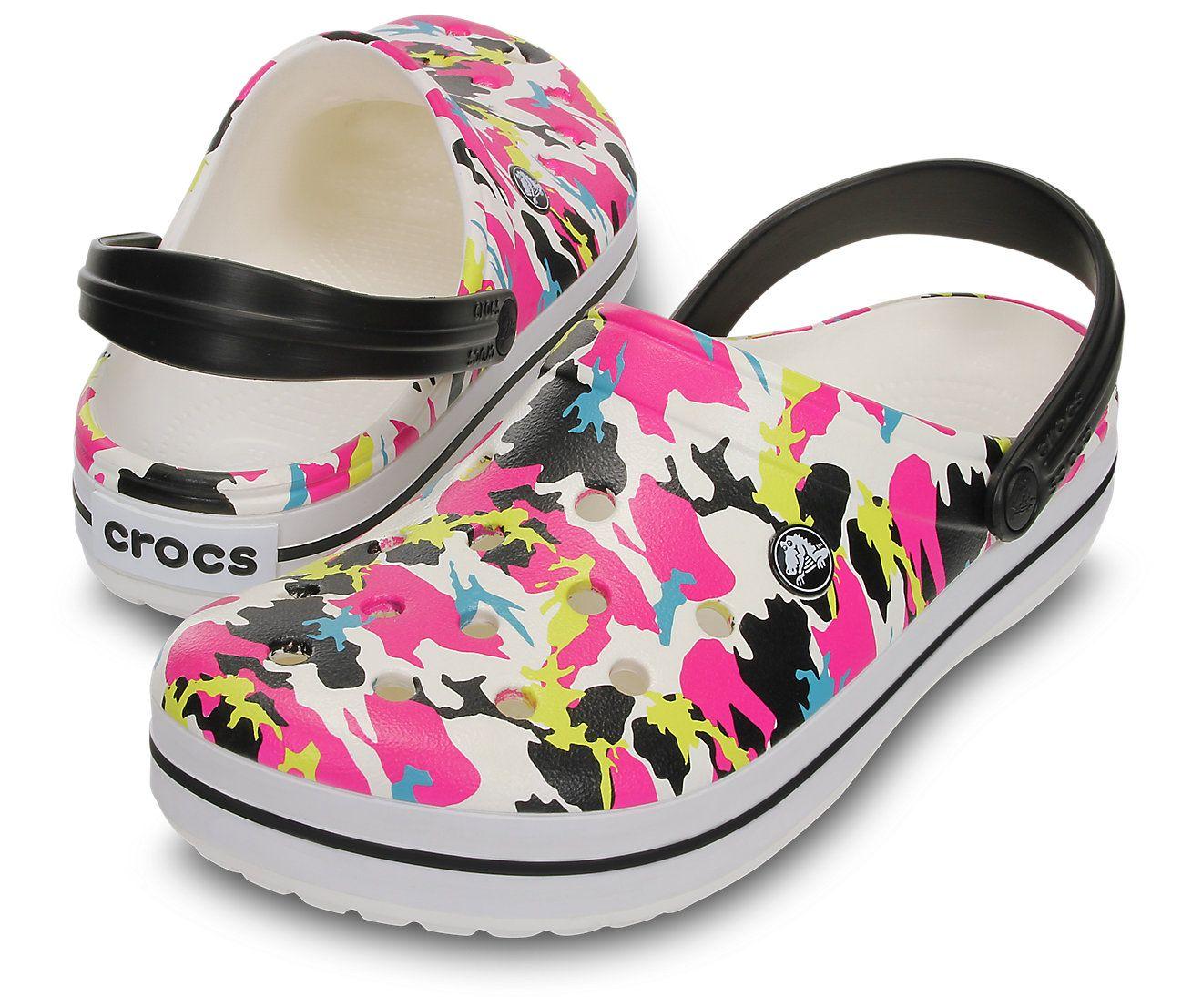 Crocs Kids Crocband Camo Graphic Clog