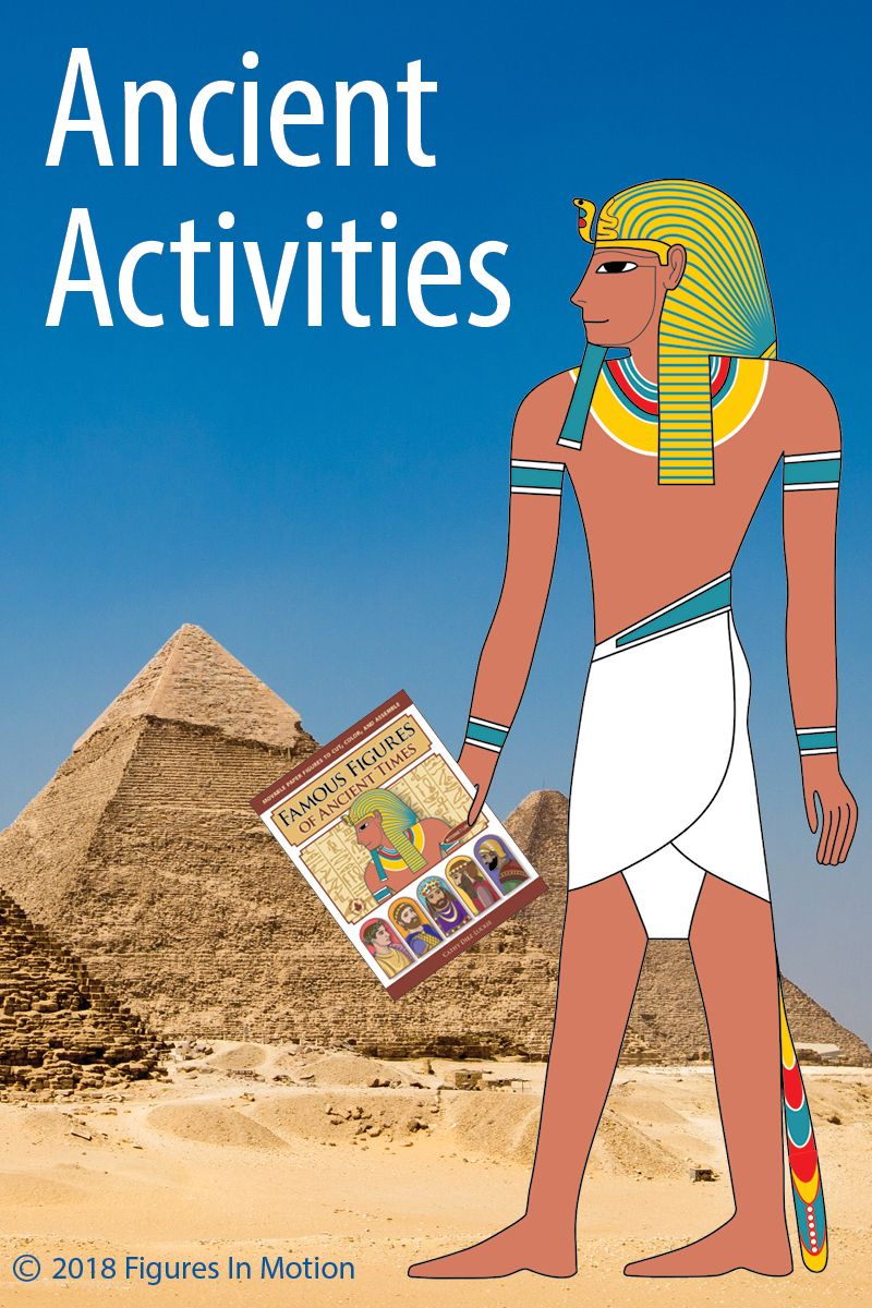 Famous Figures Of Ancient Times Articulated Puppets Of Ancient People Ancient Ancient Egypt Activities Ancient People