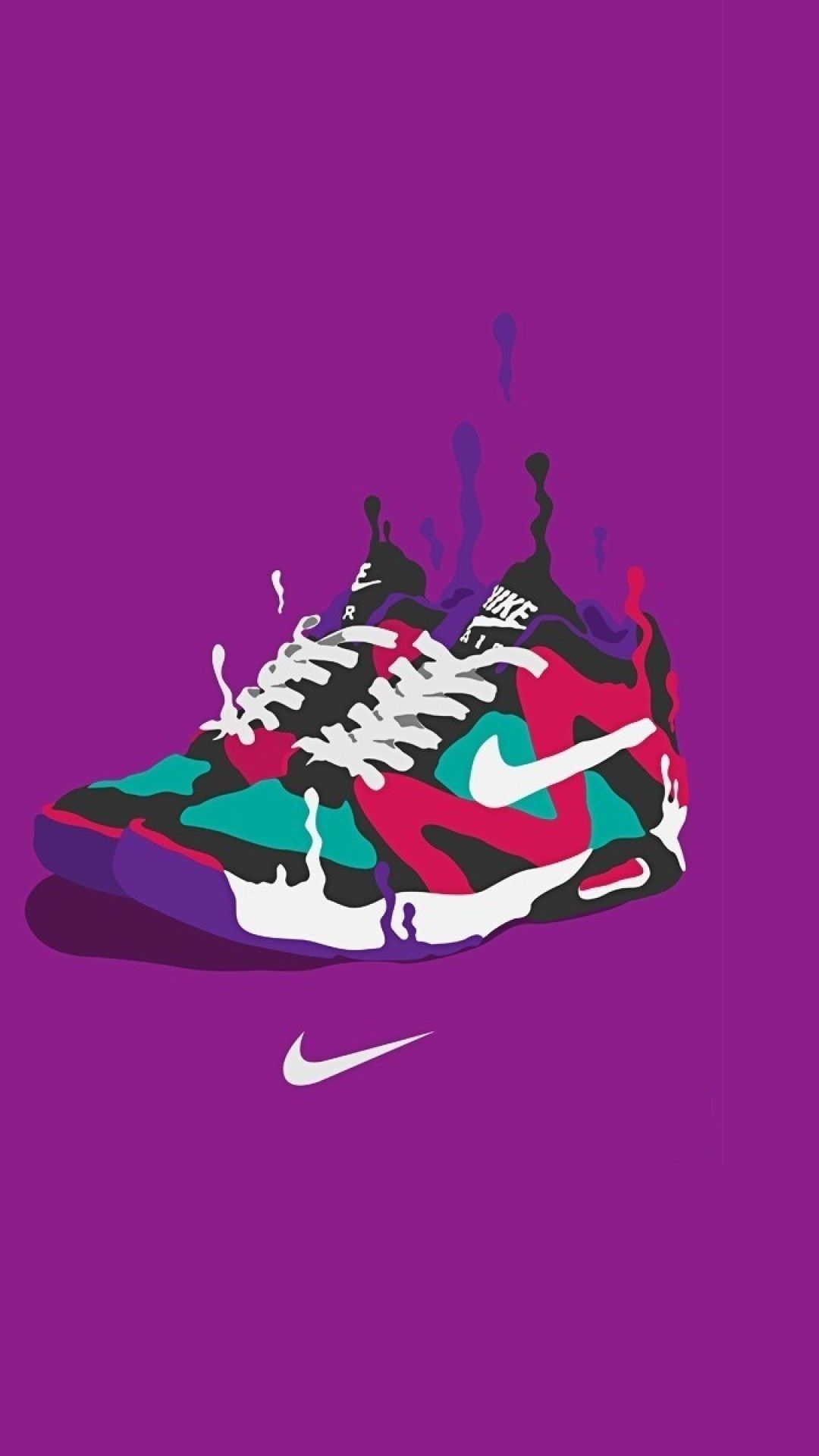 Look - Logo Nike wallpaper purple video