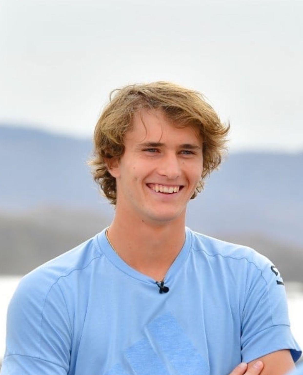 Precious Smile From Instagram Alexander Zverev Tennis Players Alexander