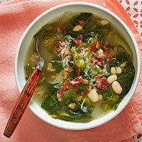 Bean Escarole Soup SoupRachel Ray