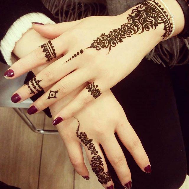 مجلة بالصور أفضل نقش حناء لعروس موسم 2017 2016 Mehndi Designs 2018 Mehndi Designs For Hands Henna Designs Easy