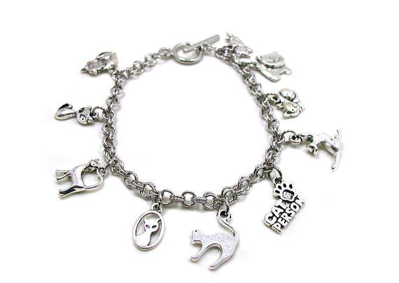 Cat Charm Bracelet Animal Pet Best Friend Love My Remembrance