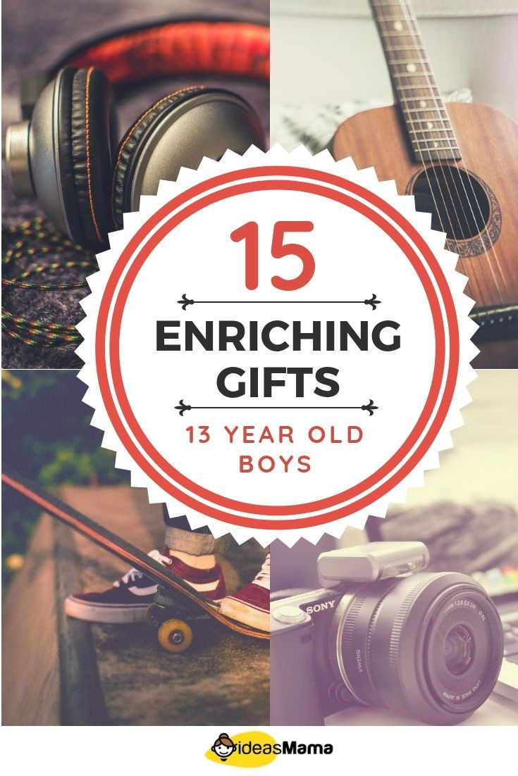 16 enriching gifts for 13 year old boys that are useful