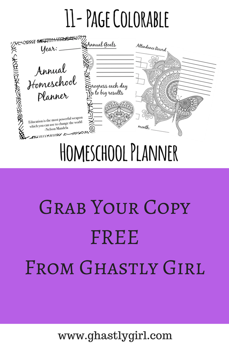 Grab Our Free Printable Homeschool Planner To Keep Your Homeschool