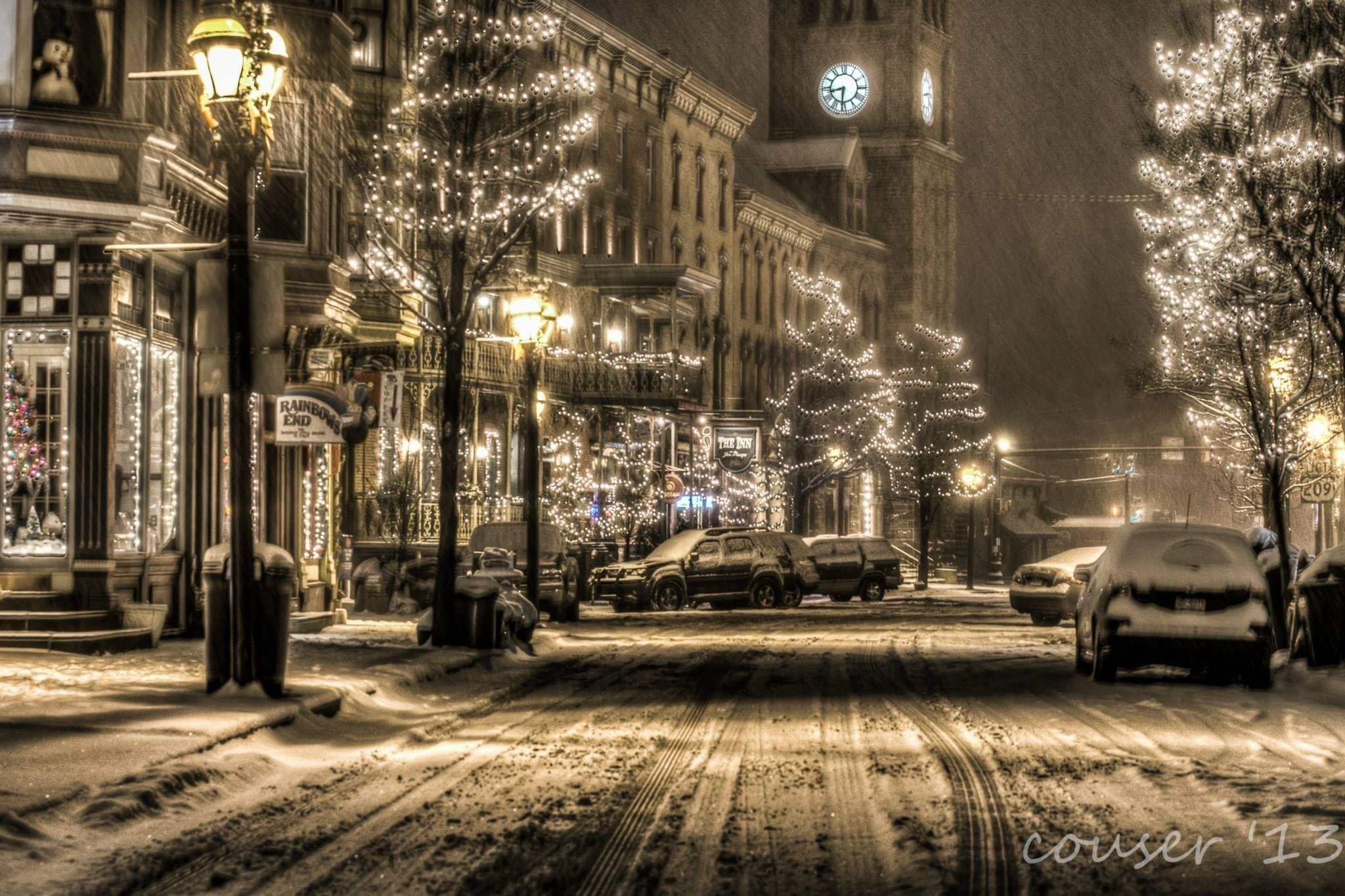 Beautiful Winter Snow In Jim Thorpe Jim Thorpe Pa Jim