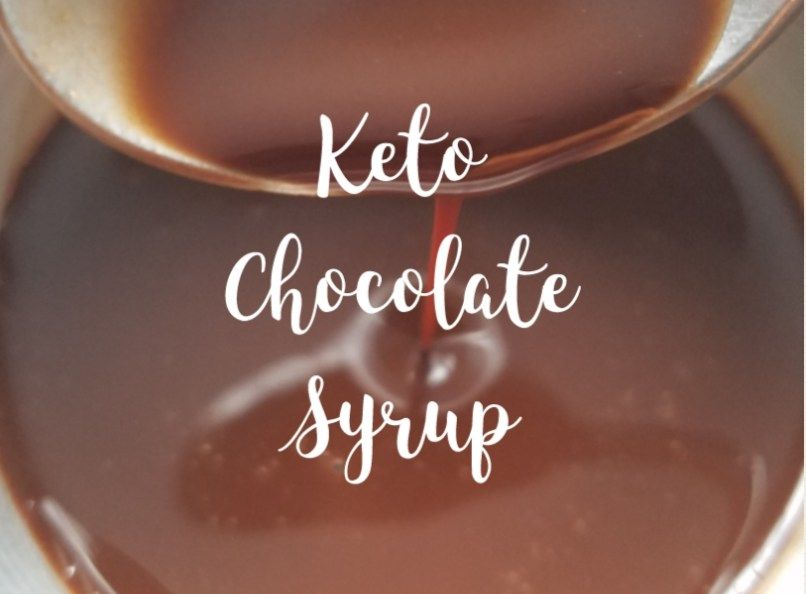 Keto chocolate syrup sugar free chocolate syrup stevia