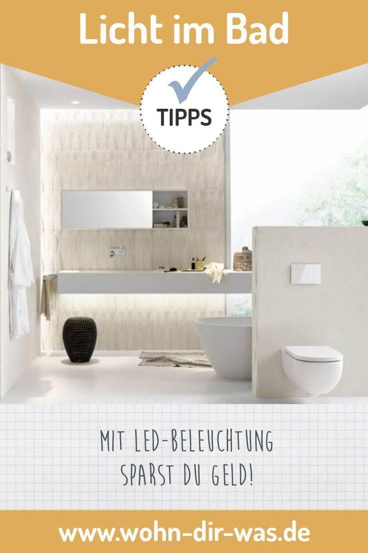 Licht ist nicht gleich Licht in   Bad Badezimmer einrichten