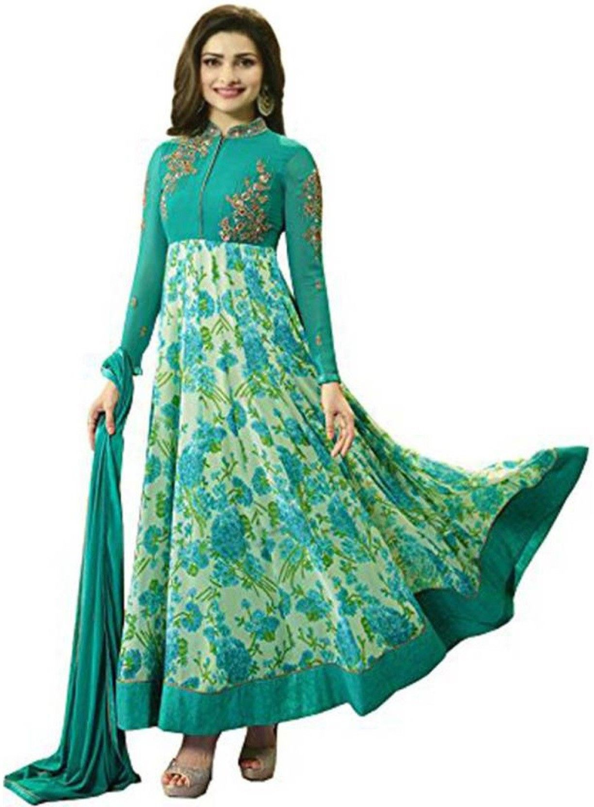 bf8c795c6a374a Active Anarkali Price in India - Buy Active Anarkali online at Flipkart.com